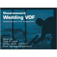 Glazenwasserij Wedding